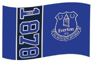 Everton Football Club Large 5ft x 3ft Flag (SN)